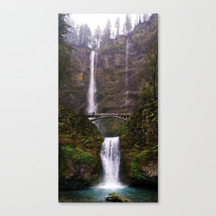 Rainy Multnomah Canvas Print