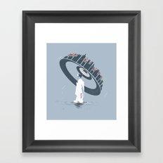 Raining 2 Framed Art Print