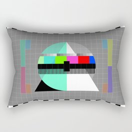 Waiting for the Show to Begin (Test Pattern 1) Rectangular Pillow
