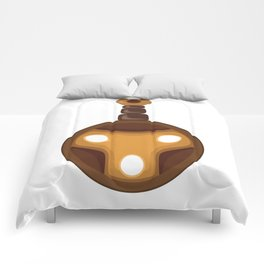 Bard by Devin Buzzarello Comforters