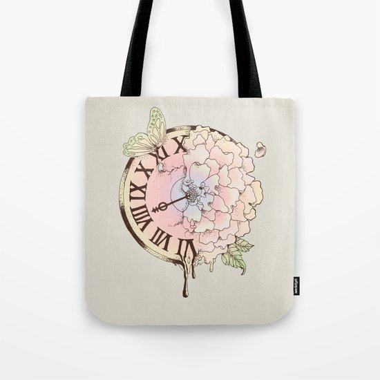 Il y a Beauté dans le Temps (There is Beauty in Time) Tote Bag