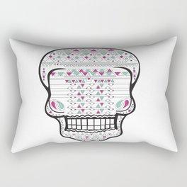 Skull #2 Rectangular Pillow