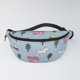 Icy Winter Fanny Pack