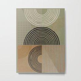 Natural Geometry X Metal Print