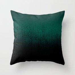 Emerald Ombré Throw Pillow