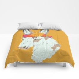 Penelope the Pinto Donkey Comforters