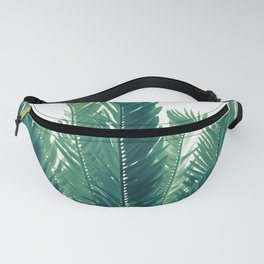 Tropical Leaves Dream #2 #tropical #decor #art #society6 Fanny Pack