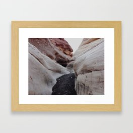 Mosaic Canyon Framed Art Print