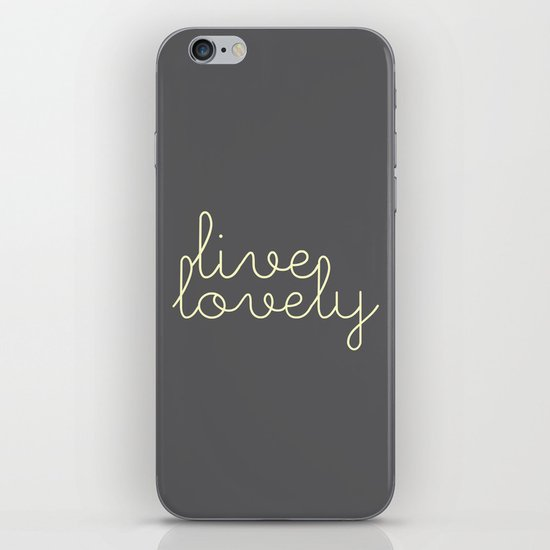 live lovely iPhone & iPod Skin
