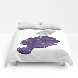 Universe in the Bottle Comforters