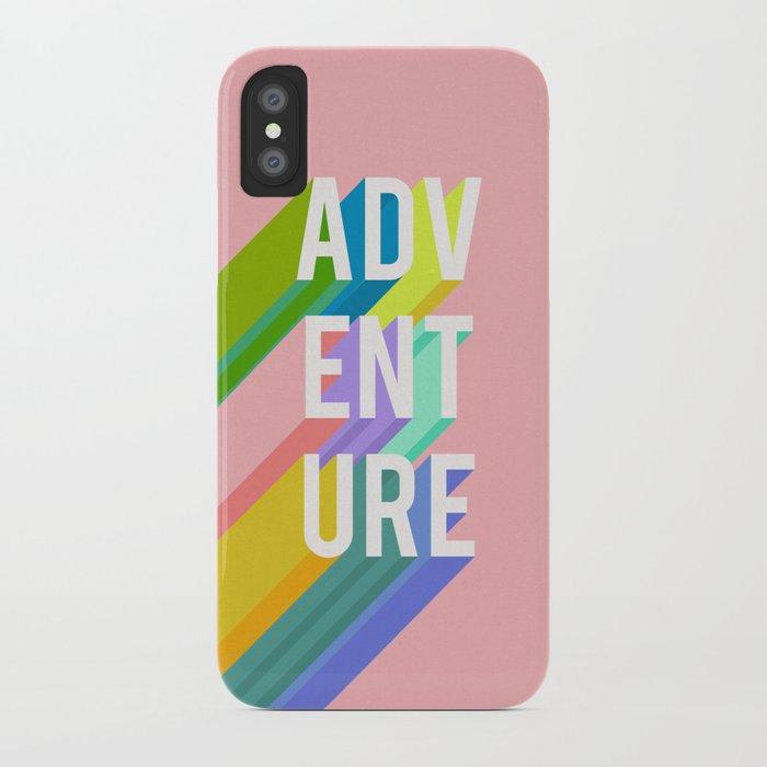 Adventure in Pink iPhone Case