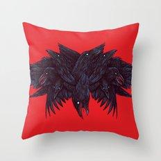 Crowberus Throw Pillow