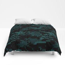 DIGITAL CAMO Comforters