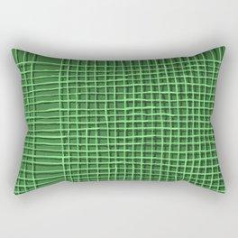 Left - Green Rectangular Pillow