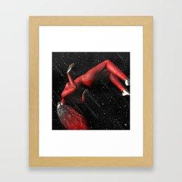 LNLY GRL ∀ Framed Art Print