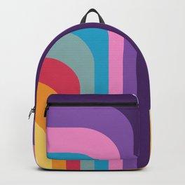 Retro Rainbow 02 Backpack
