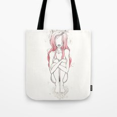 And How the Pollen fell all around your Face Tote Bag
