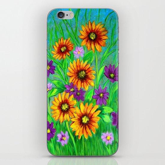 Flowers in my garden  iPhone & iPod Skin