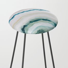 Green Agate #1 Counter Stool