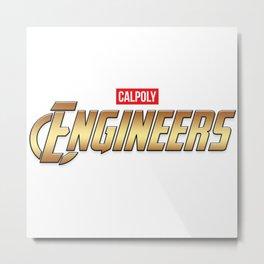 Cal Poly Engineer (Engineers) Metal Print