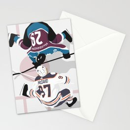 FACE OFF Stationery Cards