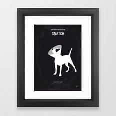 No079 My Snatch minimal movie poster Framed Art Print