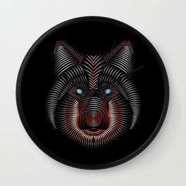 Wolflike Wall Clock