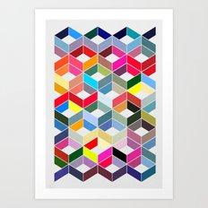 Myriad 01. Art Print