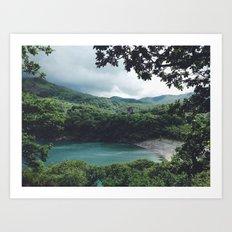 Paradise. Art Print