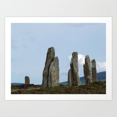 The Ring of Brodgar Art Print