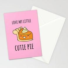 Cutie Pie Stationery Cards