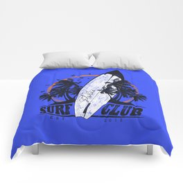 Summer Time - Surf Club Comforters