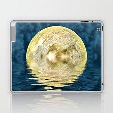 Golden moon Laptop & iPad Skin