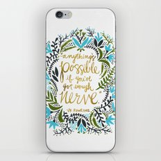Anything's Possible iPhone & iPod Skin