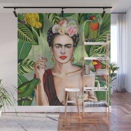 Frida con Amigos Wall Mural