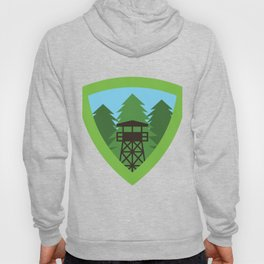 Forest Watchtower Hoody