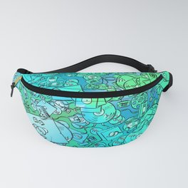 Technology Psychedelic Cold Fanny Pack