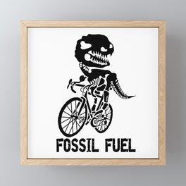 Fossil fuel Framed Mini Art Print