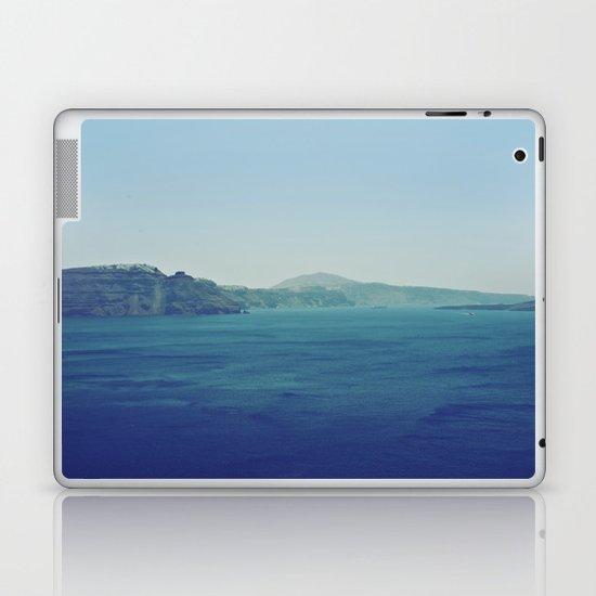 Greek Island Blues Laptop & iPad Skin