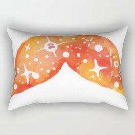 Fire of the suns space stache Rectangular Pillow