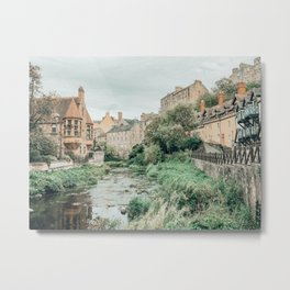 Dean Village, Edinburgh, Scotland Metal Print