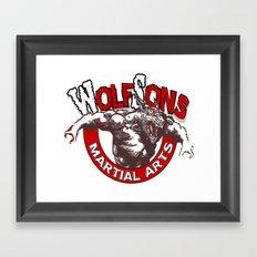 WolfSons2 Framed Art Print