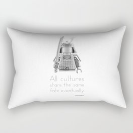 Japan - All Cultures Share the Same Fate Eventually Rectangular Pillow