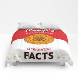 Trump's Alternative Facts Soup Comforters
