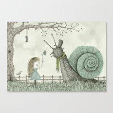 'In The Garden' Canvas Print