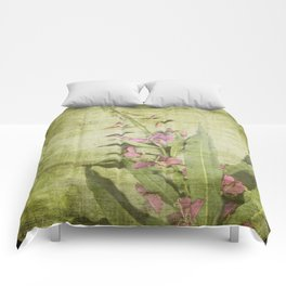 Decorative Green Floral Comforters