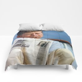 John F Kennedy Smoking Comforters