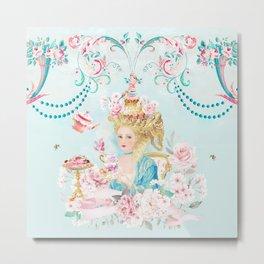 Marie Antoinette Hot Tea Metal Print