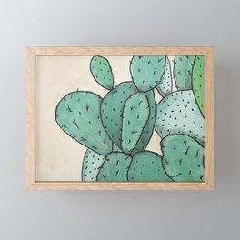 Cactus Vibes Framed Mini Art Print