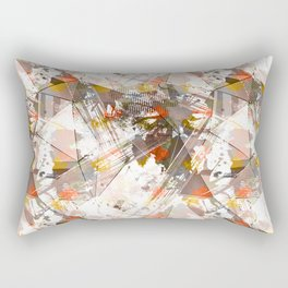 Abstraction. The strokes of paint. 1 Rectangular Pillow